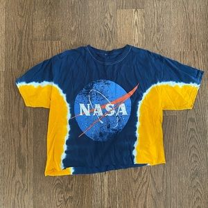 NASA Tie Dye Graphic Tee